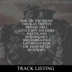 Click to view the tracklisting for SETTING SONS